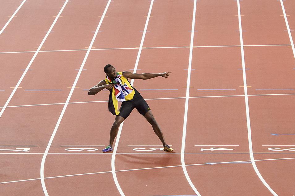 Usain St. Leo Bolt war acht Mal Olympiasieger, holte elf Mal WM-Gold und hält seit 2009 zudem die Weltrekorde über 100 und 200 Meter. Seine Tochter bekommt einen olympischen Namen.