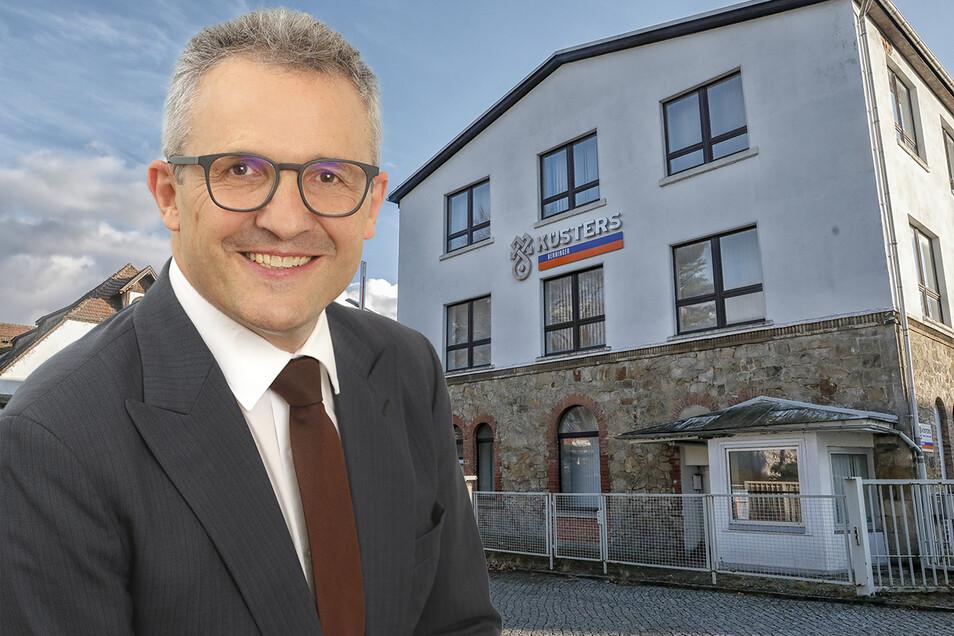 Der Sitz von Küsters an der Gerhart-Hauptmann-Straße in Zittau. Er gehört zur Benninger-Gruppe, deren Geschäfte Beat Meienberger leitet.