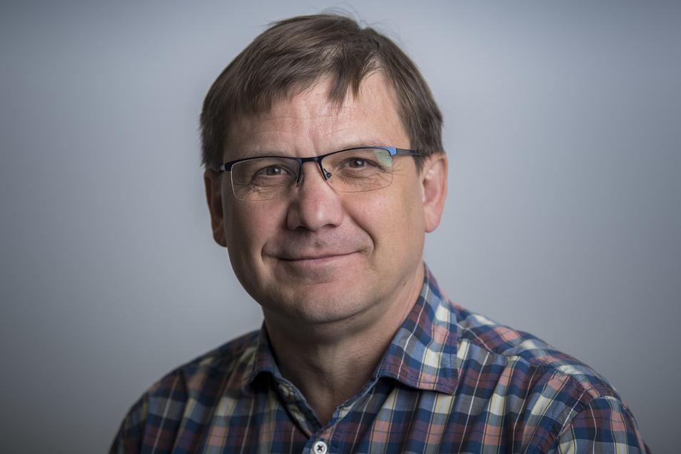 SZ-Sportredakteur Sven Geisler (53)