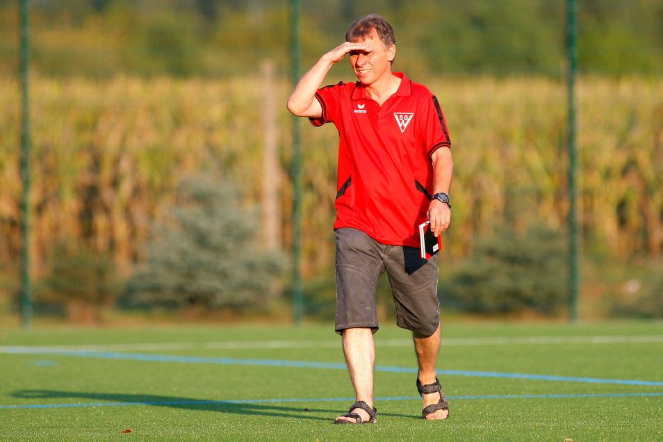 Holger Steinhardt ist einer der neuen Trainer beim SV Bannewitz.