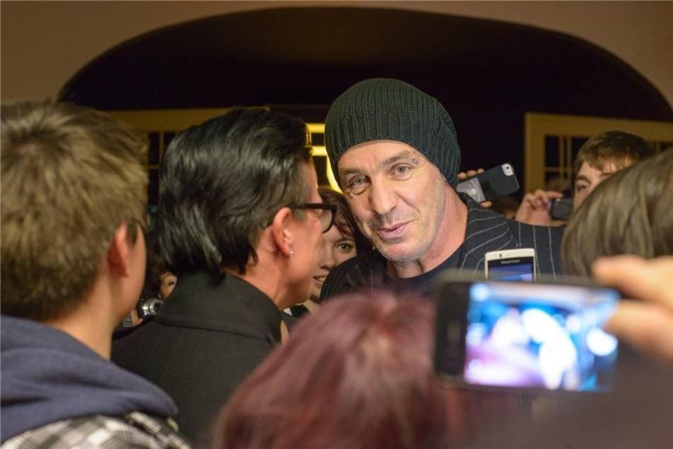 Till Lindemann ist als eher medienscheu bekannt.
