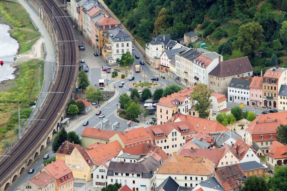 Die B172 ist die wichtigste Verkehrsader in der Sächsischen Schweiz. In Königstein wird sie zum Nadelöhr.