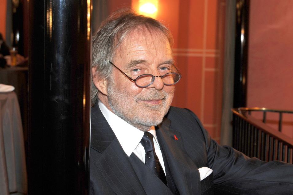 Thomas Fritsch 2011 bei der Gala zum 50-jährigen Bestehen der Kleinen Komödie im Bayerischen Hof.