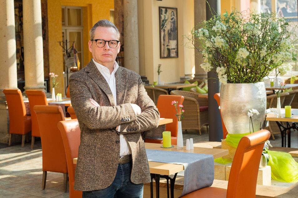 """Ralf Thiele, Geschäftsführer der Pura Hotels GmbH: """"Diese Hingezappel bringt gar nichts."""""""