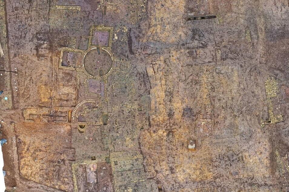 Sie wurden bei archäologischen Ausgrabungen in einer künftigen Wohnsiedlung entdeckt.