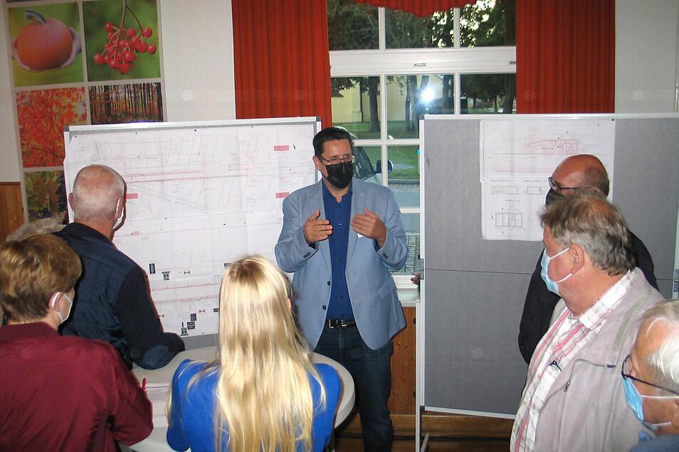 Projektingenieur Dirk Schreyer erklärte viel Details.