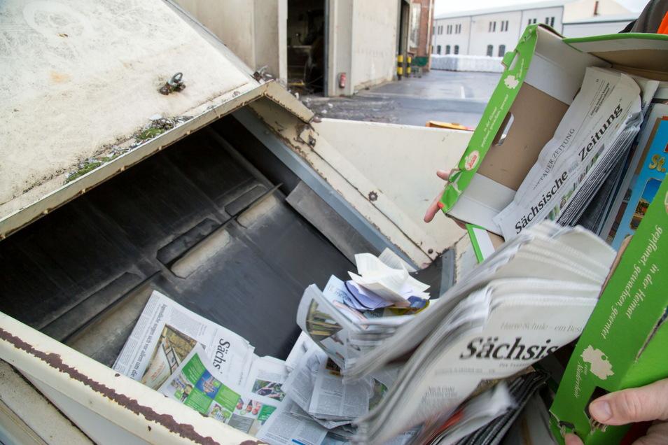 """Die Leiterin der Kita """"Unter den Linden"""" in Roßwein hat für Freitag eine Altpapiersammlung organisiert. Der Erlös soll an eine vom Hochwasser betroffene Kindereinrichtung gehen."""