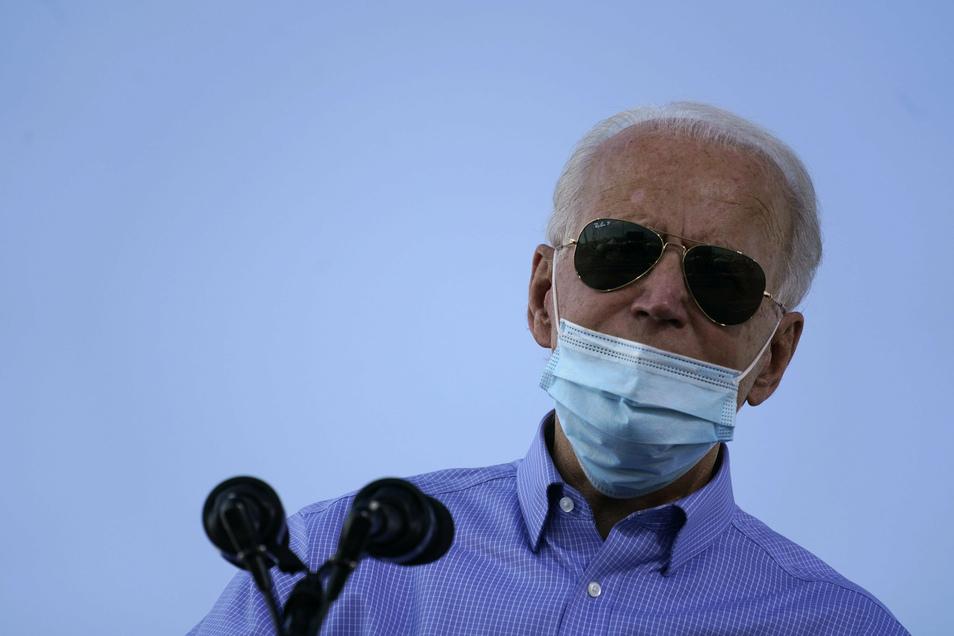 Die demokratische Partei von Joe Biden hofft auf Stimmen in den Ballungszentren.