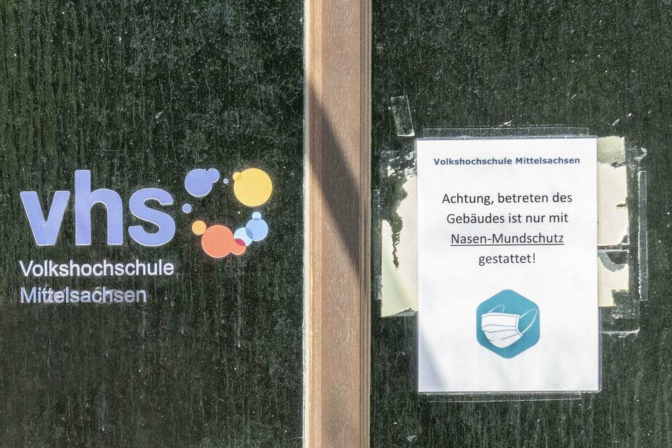 Die Volkshochschule Mittelsachsen bereitet das Herbst-/Wintersemester vor. Bei diesem gibt es coronabedingt einige Einschränkungen.