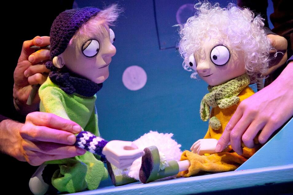 Die Figuren des Bautzener Puppentheaters suchen Paten - anlässlich des 60. Geburtstags.