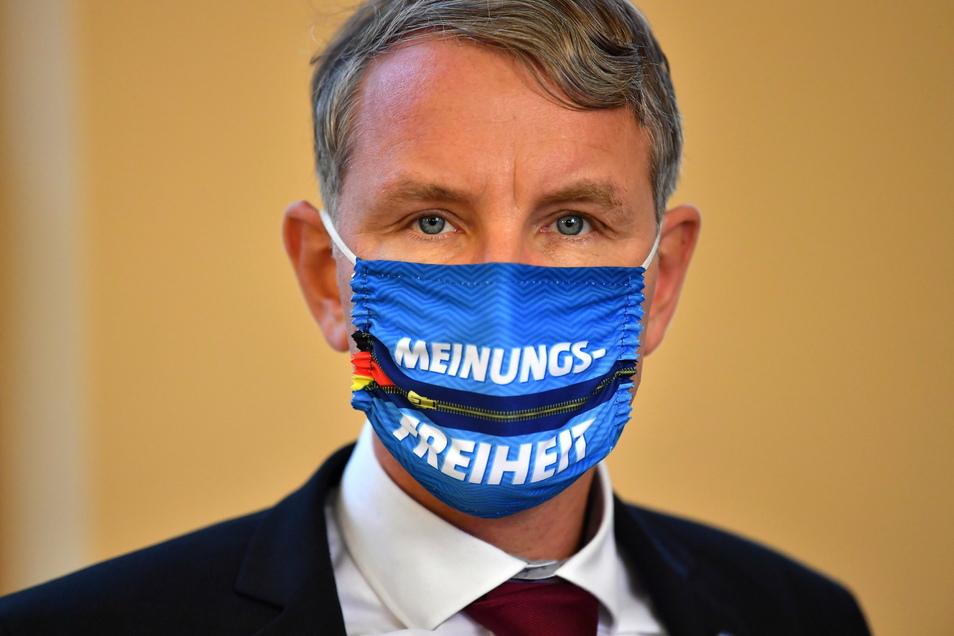 Gegen Thüringens AfD-Fraktionschef Björn Höcke wird u.a. wegen des Verdachts der Volksverhetzung ermitelt.