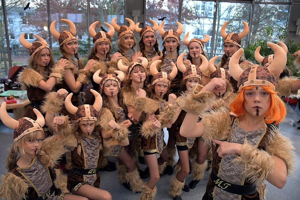 Die Tanzperlen des Zschopautales werden die Gäste des Herbstfestes am Sonnabend unterhalten.