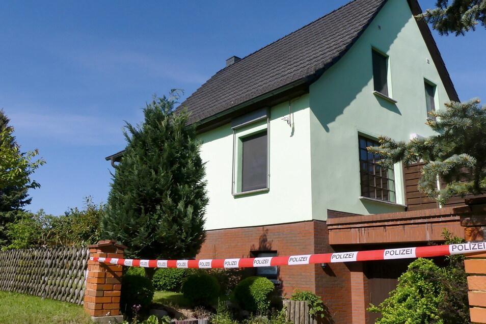In diesem Haus in Brandenburg passierte die Tat.
