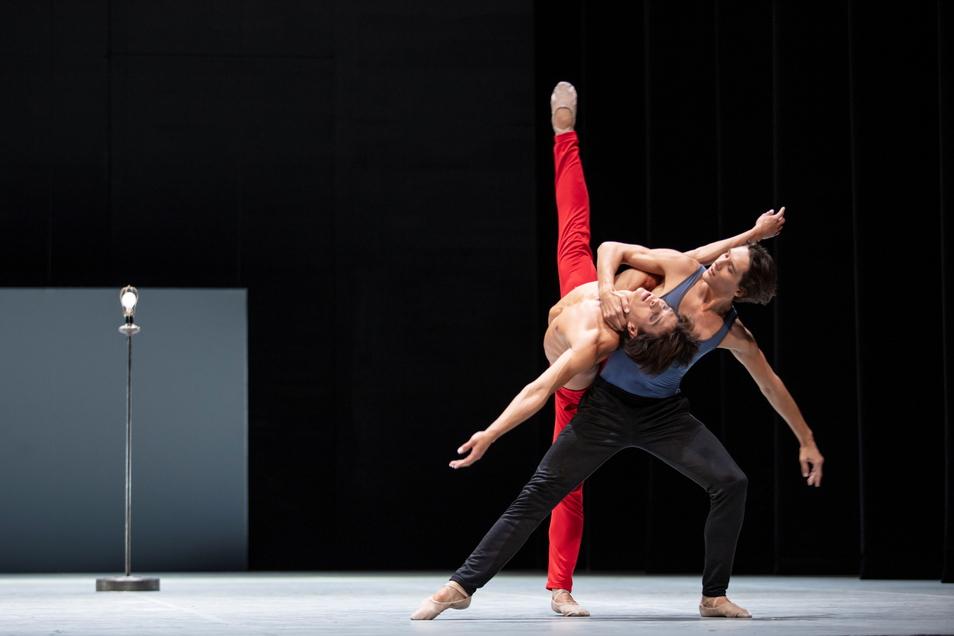 Es berühren sich nur Tänzer in dem neuen Ballett von John Neumeier, die auch privat ein Paar sind.