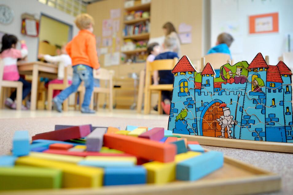 Kinder, Kinder. Die Kitas in Bannewitz sind voll ausgelastet. Deshalb braucht es schon wieder einen Neubau.