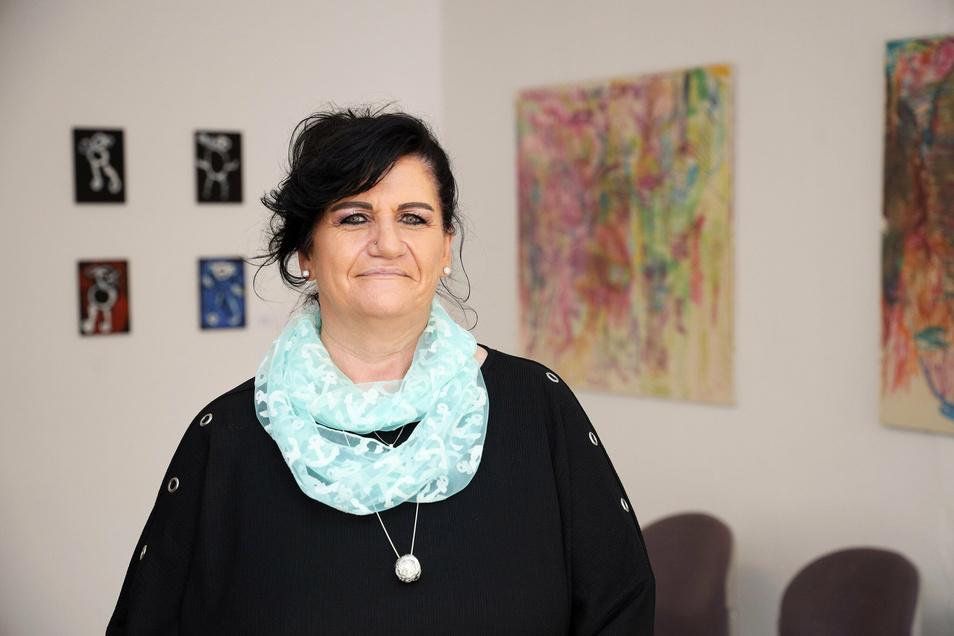 Judith Schulze ist Koordinatorin beim ambulanten Hospizdienst in der Bahnhofstraße 12 in Riesa.