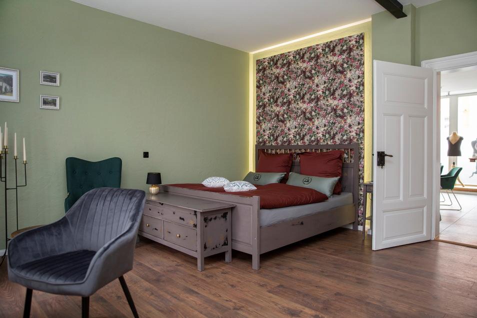 Eines der beiden Schlafzimmer für jeweils zwei Personen.