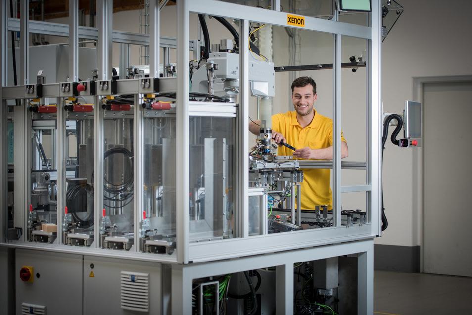 Das Dresdner Unternehmen Xenon Automatisierungstechnik hat bereits seit 2013 eine Tochterfirma in China.