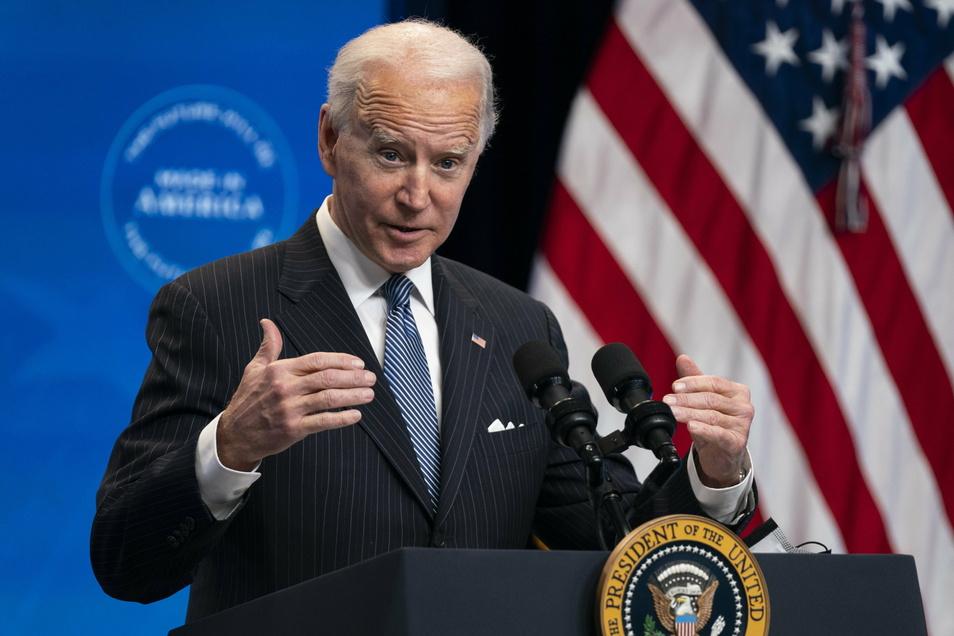 "US-Präsident Joe Biden hält Wladimir Putin für einen ""Killer""."
