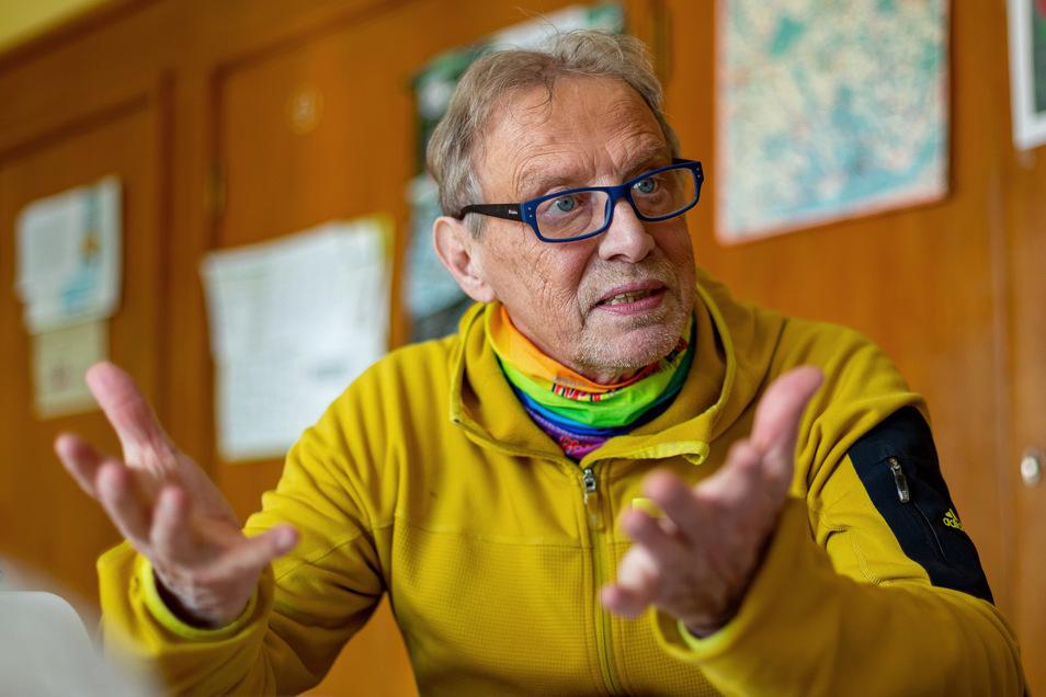 Thomas Kirsten, Bürgermeister von Altenberg, verzichtet auf die Sitzung des Stadtrates am Montag.