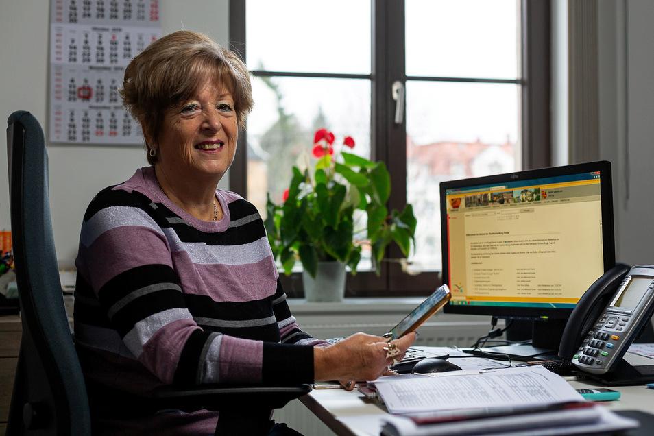 Heidrun Weigel ist Seniorenbeauftragte und möchte mit der Volkshochschule Technikkurse für Senioren organisieren.