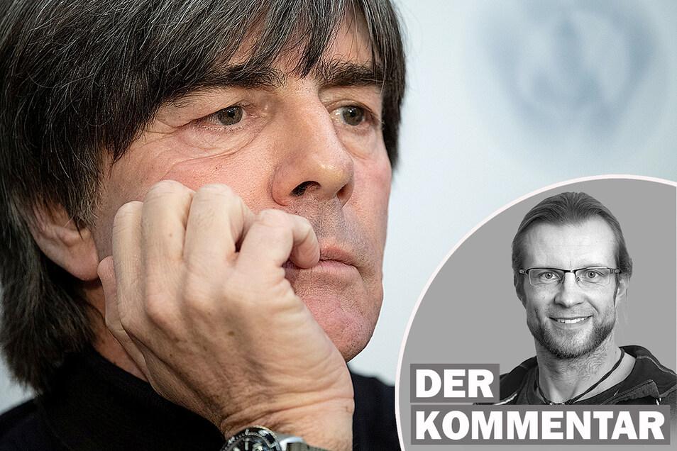 Joachim Löw gibt sein Amt als Bundestrainer nach der EM im Sommer auf.