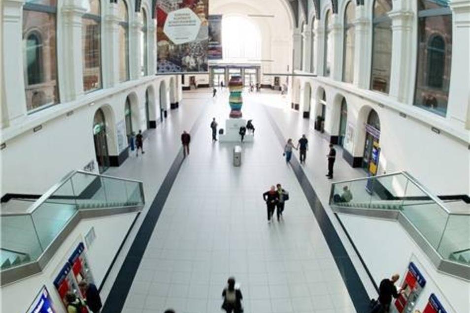 """Den Dresdner Bahnhof nannten die Juroren ein """"Schmuckstück""""."""