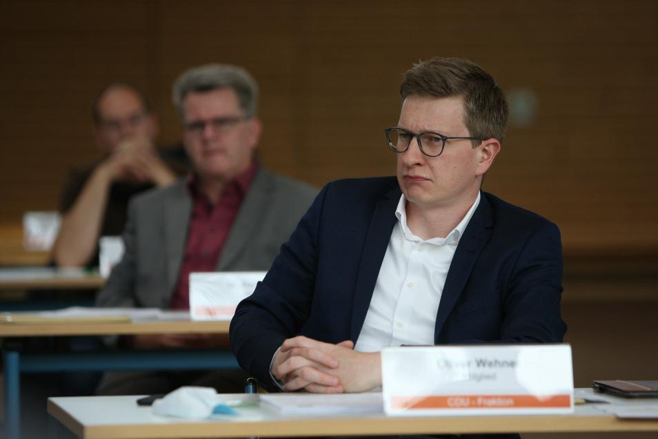 Oliver Wehner ist Kreisrat und stellvertretender Vorsitzender der CDU im Landkreis.