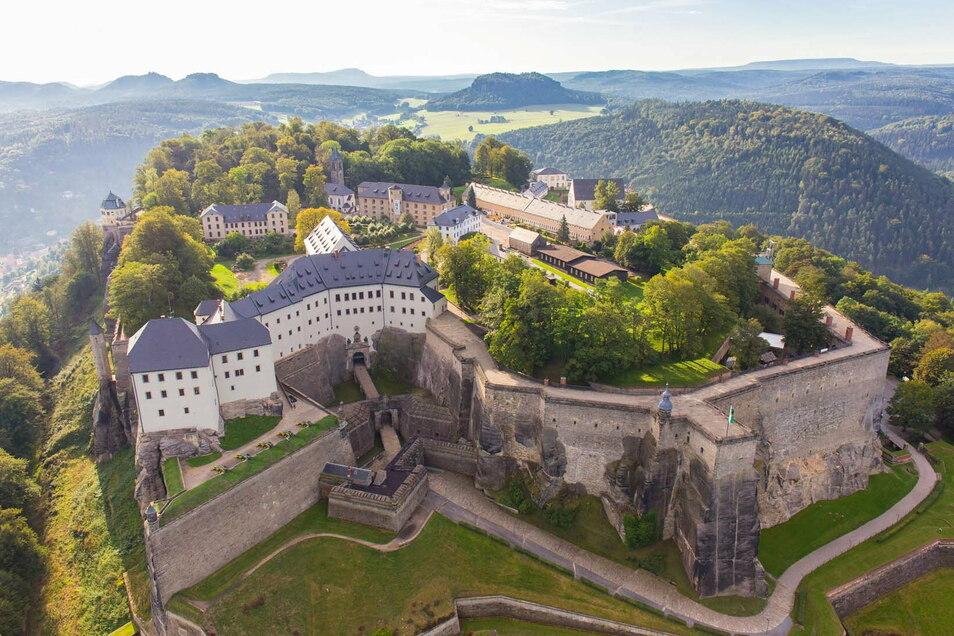 Von der Königsteiner Innenstadt direkt auf den Königstein? Die Festungsbahn soll diese Vision wahr werden lassen.