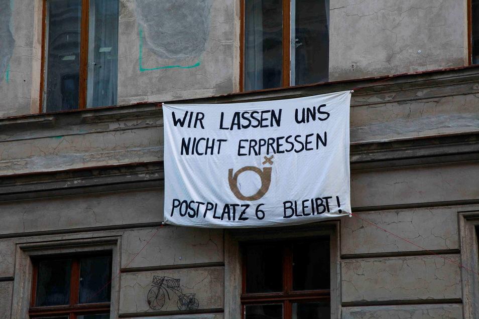 Gegen den Abriss der Villen gab es Proteste.