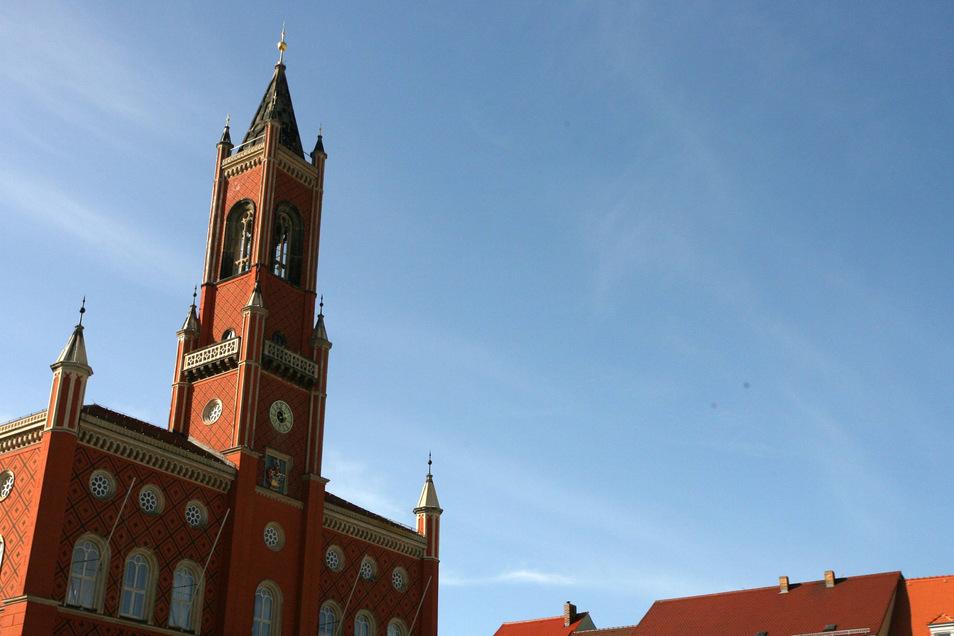 Das Kamenzer Rathaus.