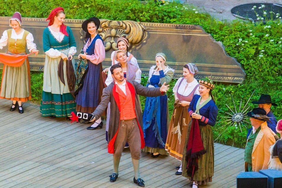Der Freischütz - eine romantische Oper von Carl Maria von Weber am 18. Juni