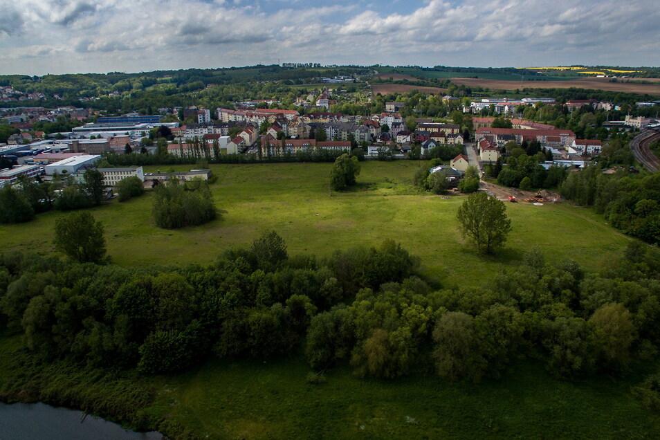 Auf dem Gelände der ehemaligen Zuckerfabrik sollen 61 Eigenheime sowie vier Mehrfamilienhäuser entstehen.