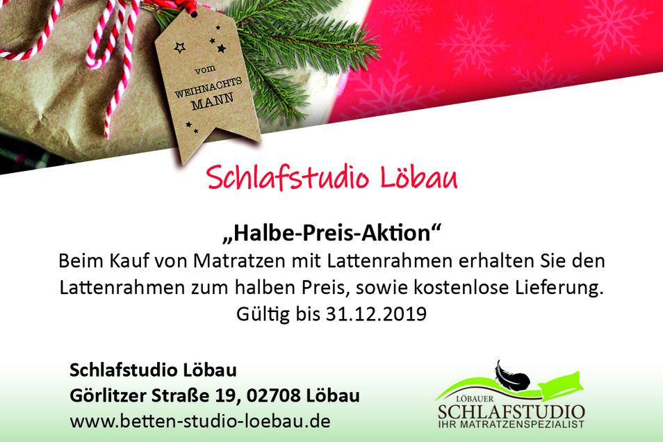 Schlafstudio Löbau, Görlitzer Straße 19, 02708 Löbau, betten-studio-loebau.de