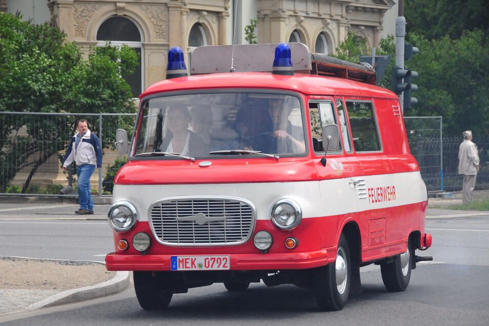 Symbolbild: Feuerwehr Barkas B-1000.