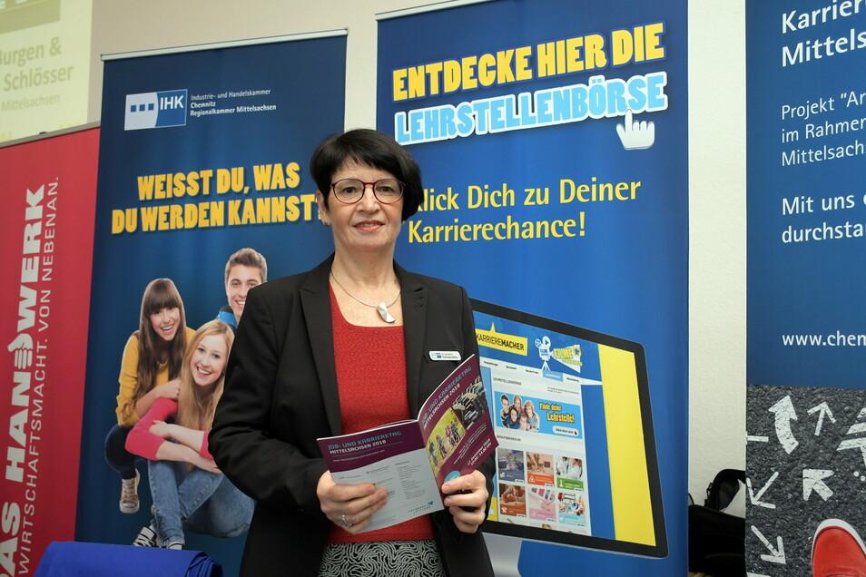 Dr. Annette Schwandtke hat die IHK Chemnitz auf eigenen Wunsch verlassen.