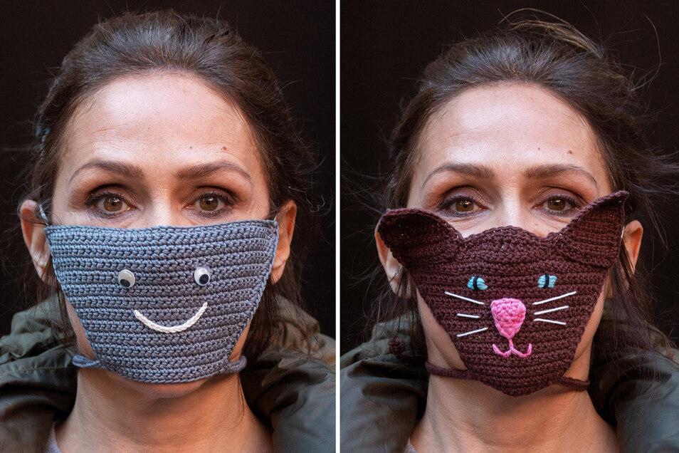 Schutzmasken Lustig