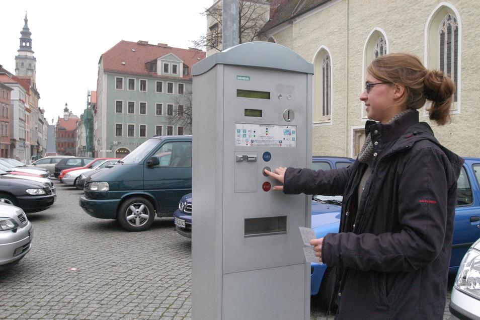 Einmal grün gedrückt und 15 Minuten gratis geparkt - das soll in Görlitz bald vorbei sein.