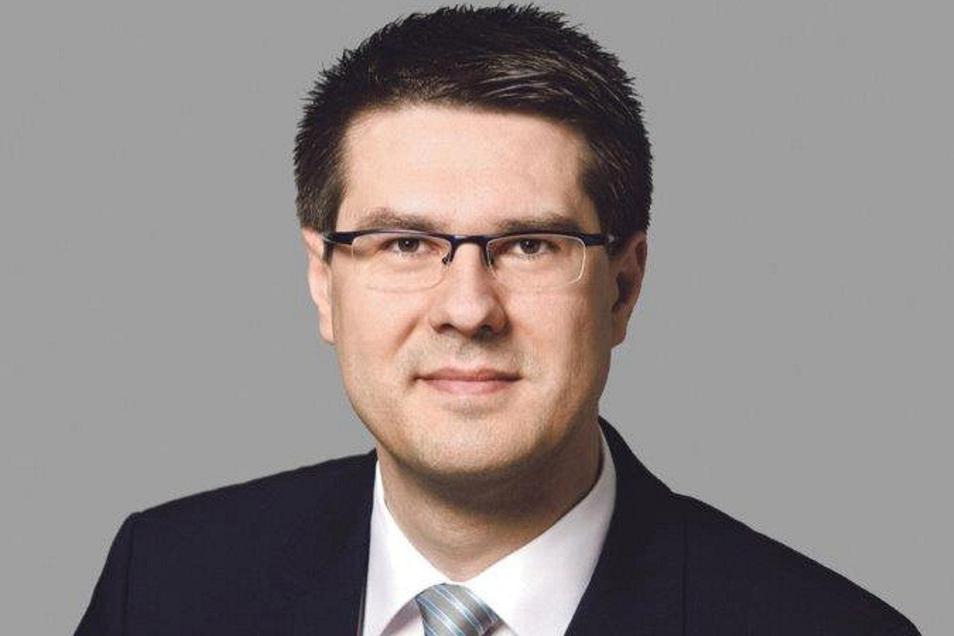 Sven Liebhauser trat im August 2019 das Amt des Oberbürgermeisters in Döbeln an. Zuvor war er Landtagsabgeordneter.