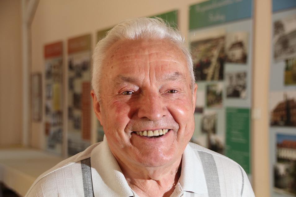 Manfred Koch erlebte als 10-Jähriger das Ende des Zweiten Weltkrieges in Laubusch. Das war heute genau vor 75 Jahren.