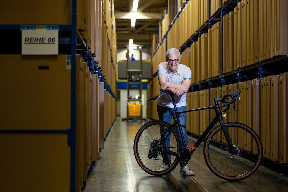 Bike 24-Gründer Andrés Martin-Birner weiß, was Fahrradfahrer wollen.