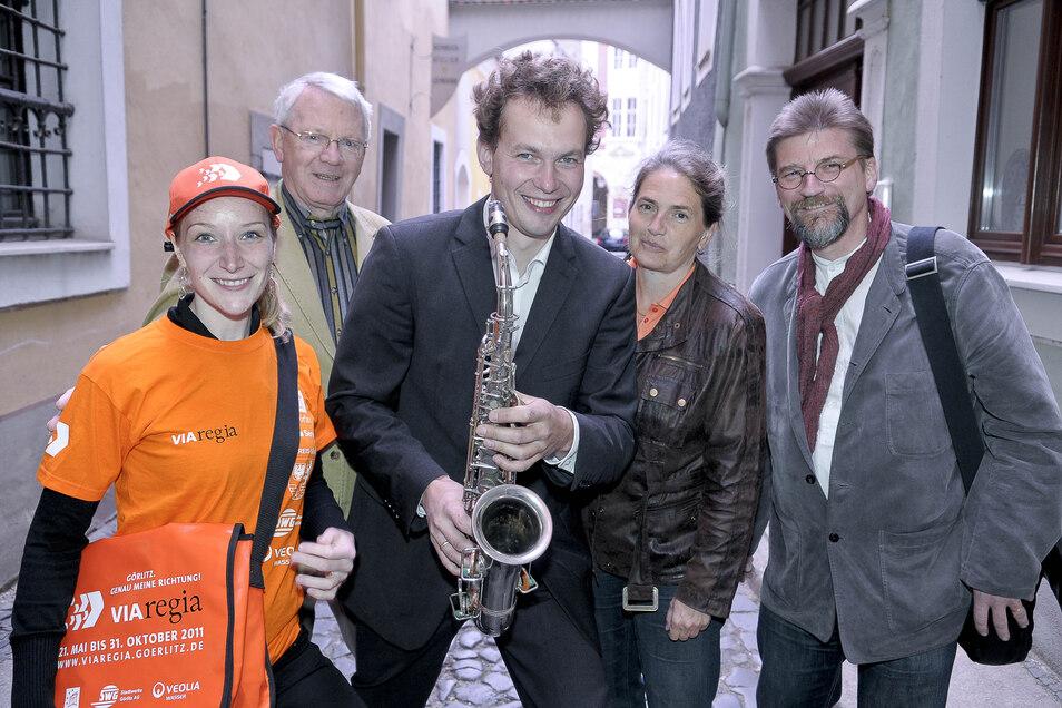 Musiker konnten immer auf die Unterstützung von Ulf Großmann zählen.
