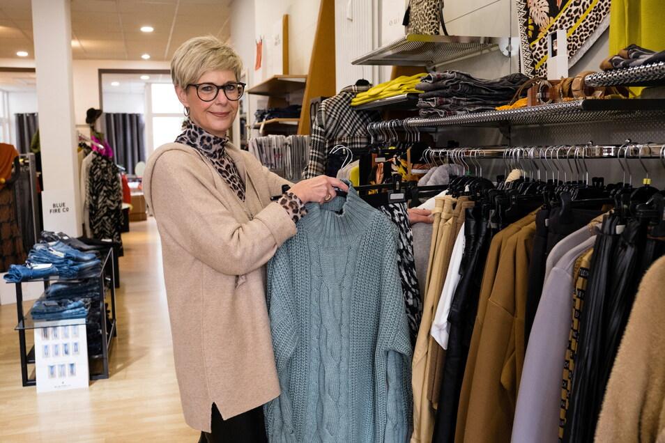 Kerstin Bergmann ist Inhaberin des Modeladens Bergmann's Mode auf der Steinstraße.