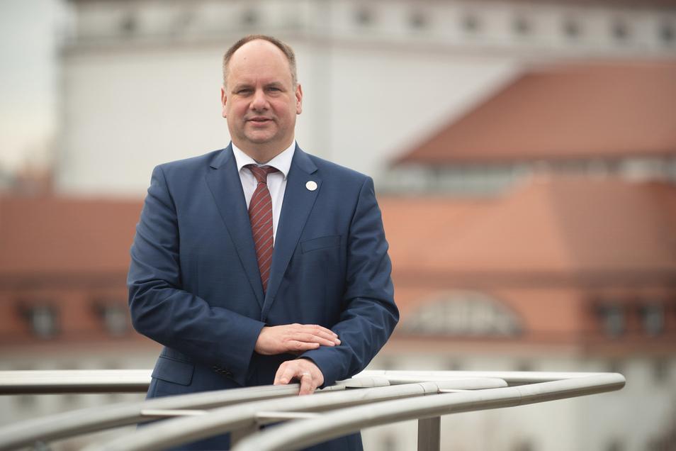 Dresdens OB Dirk Hilbert hat sich mit AfD-Vertretern getroffen.