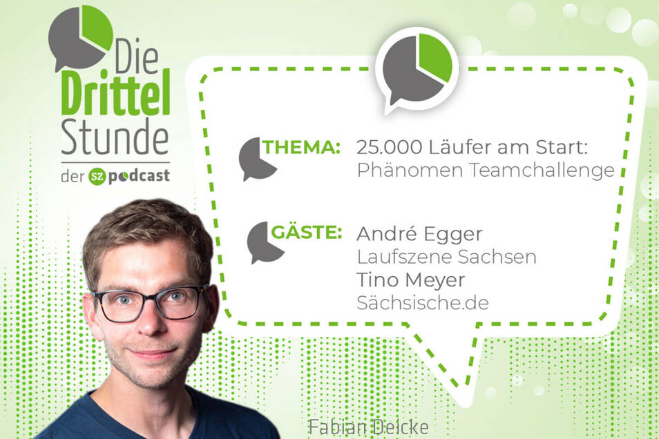 """In der """"Drittelstunde"""" redet Fabian Deicke mit seinen Gästen über Gesellschaft, Sport, Wissen und aktuelle Debatten. Diesmal geht es mit André Egger um das Phänomen Teamchallenge."""