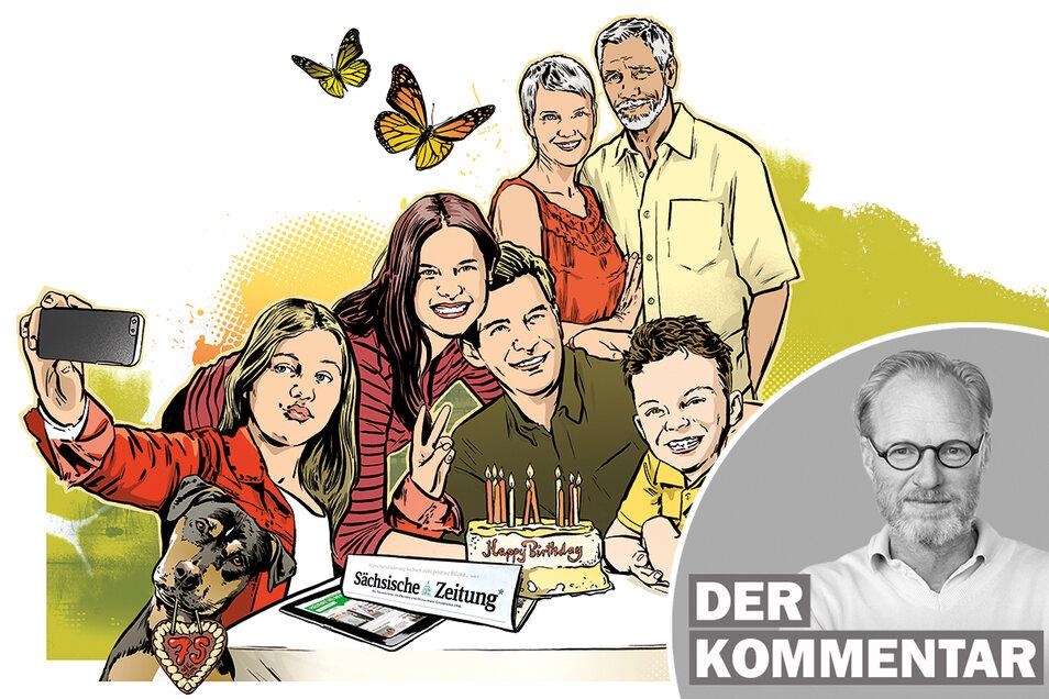 31 Minuten liest ein Abonnent heute im Schnitt in der Zeitung. Etwa 27 Nachrichten, Berichte, Reportagen. Ein Spitzenwert unter deutschen Regionalzeitungen.