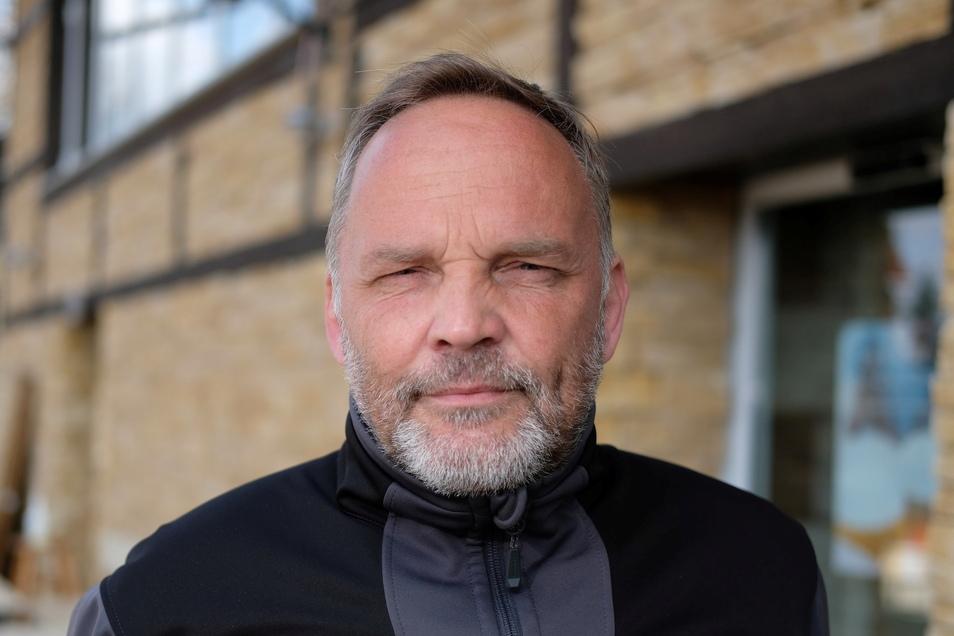 Dirk Neubauer (SPD) ist der Bürgermeister von Augustusburg.