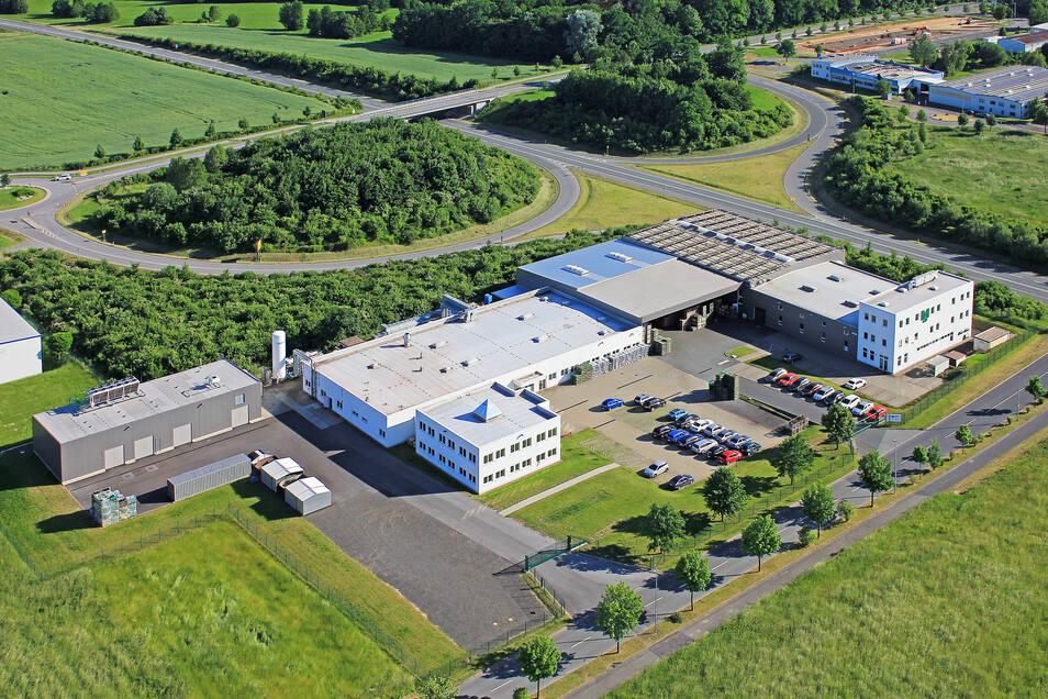 Das Firmengelände von MS Powertec im Gewerbegebiet Weinau.