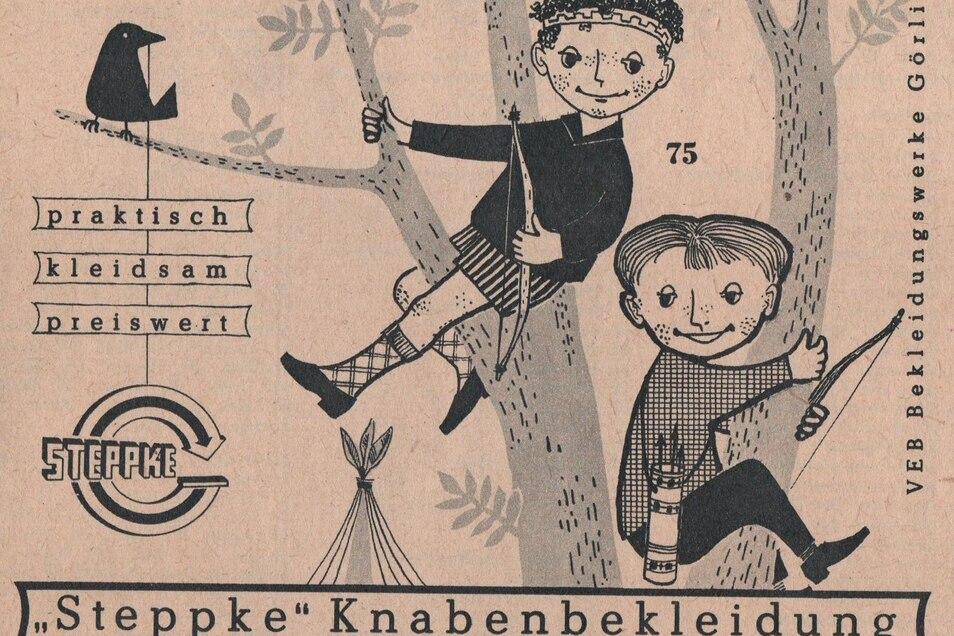 Werbeplakat aus dem Görlitzer Steppke-Werk.