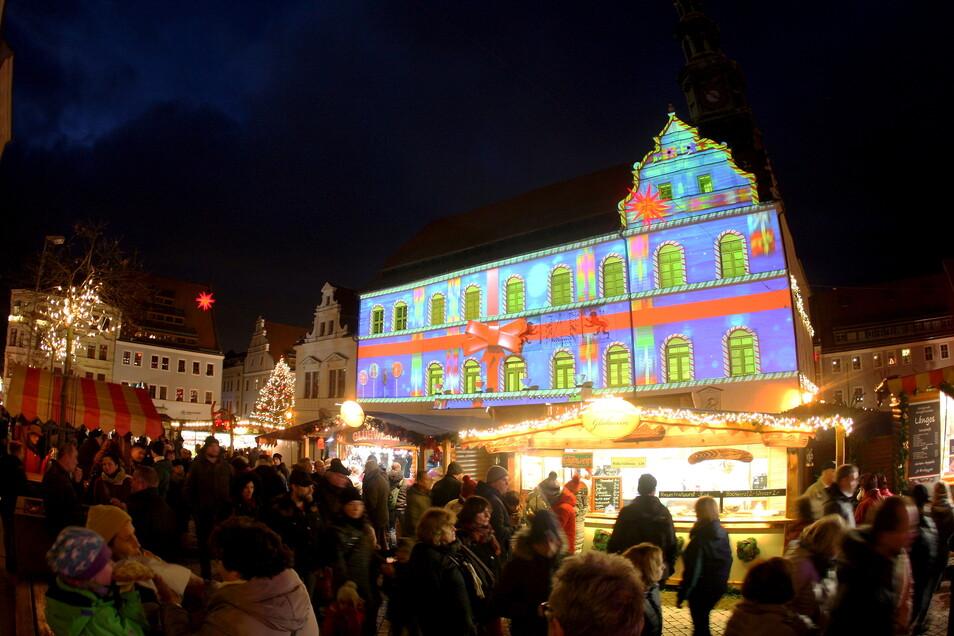 So schön wurde der Canalettomarkt in Pirna 2019 gefeiert.